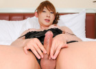 Aiko is a real pro when it comes to modeling, she always shows up for work with the most amazing outfits and knows how to pose them. You'll enjoy her numerous looks, and love her big hard cock.