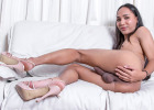 Holy fuck, your cock gets stone hard with Ress today! She will seduce you with her unbelievably sexy all natural body, stripping down her dress and playing with her cock. Ress may be tiny but she is full of sex...
